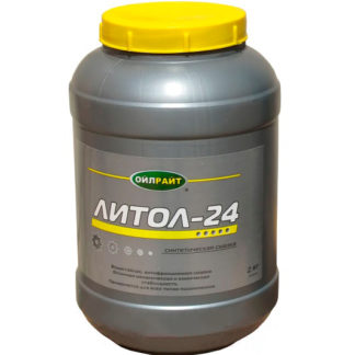 Смазка Литол-24 OIL RIGHT, 2кг