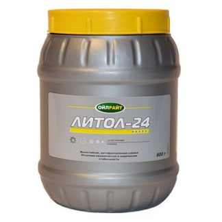 Смазка Литол-24 (0,800 кг) OILRIGHT